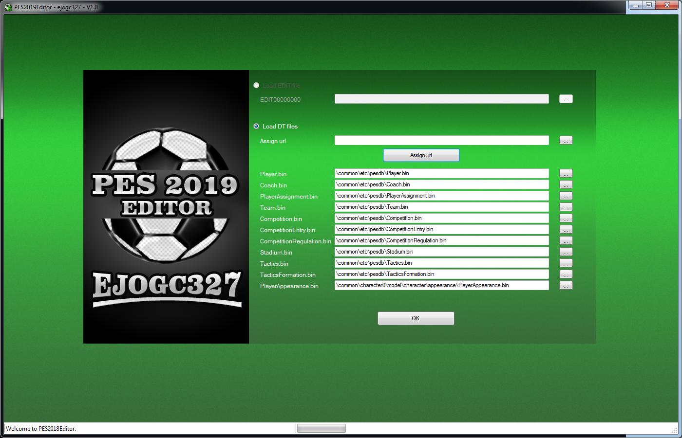 PES 2019 Editor - Aplicaciones - Dekazeta