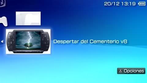 despertar del cementerio v8 pspgen
