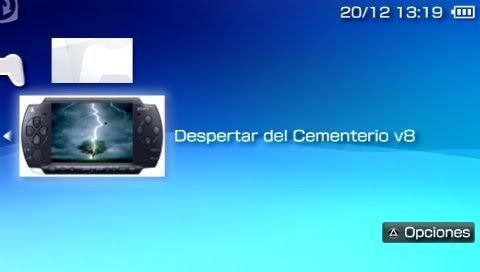 el despertar del cementerio v8 gratis para psp