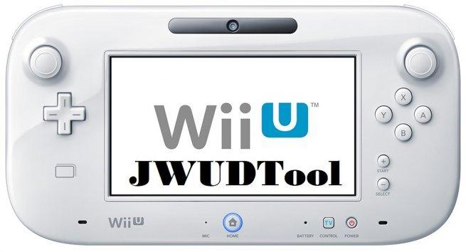 JWUDTool - Wii U - Dekazeta