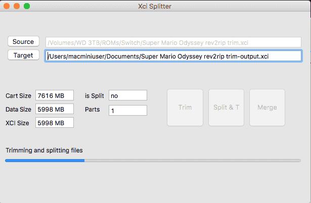 Java XCI Splitter - Switch - Dekazeta