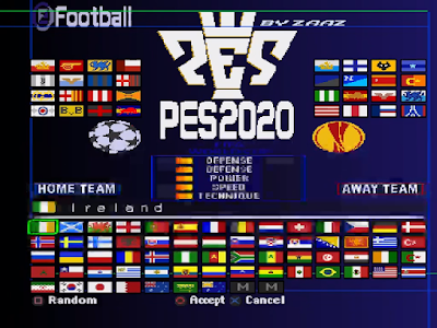 PES 2020 by ZAAZ- PSx, Play Station One (Short presentation) 1-58 screenshot.png