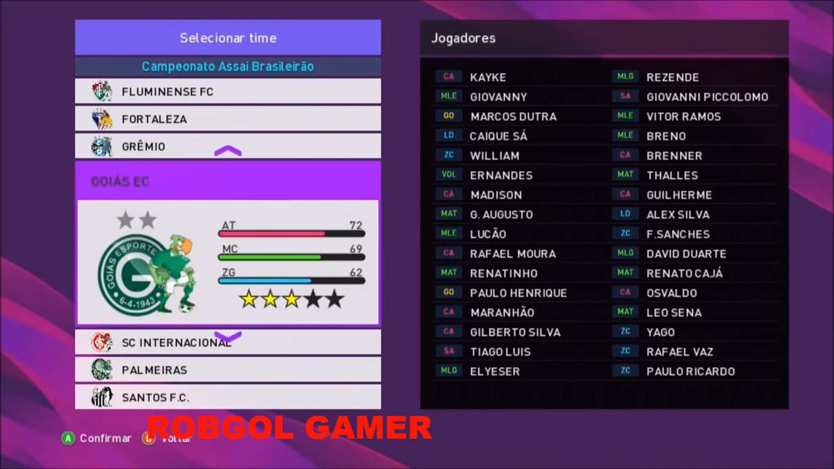 FRANK PATCH - LIGAS, ESTÁDIOS, BOLAS, FACES E MAIS - PES 2018 - XBOX 360 1-14 screenshot.png