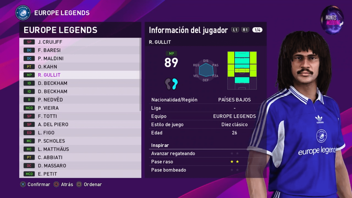 MyClub Legends Offline Mode eFootball PES 2020 PS4_PC V1 __ By Junior Mantis __ MantisModding 2-9 screenshot.png
