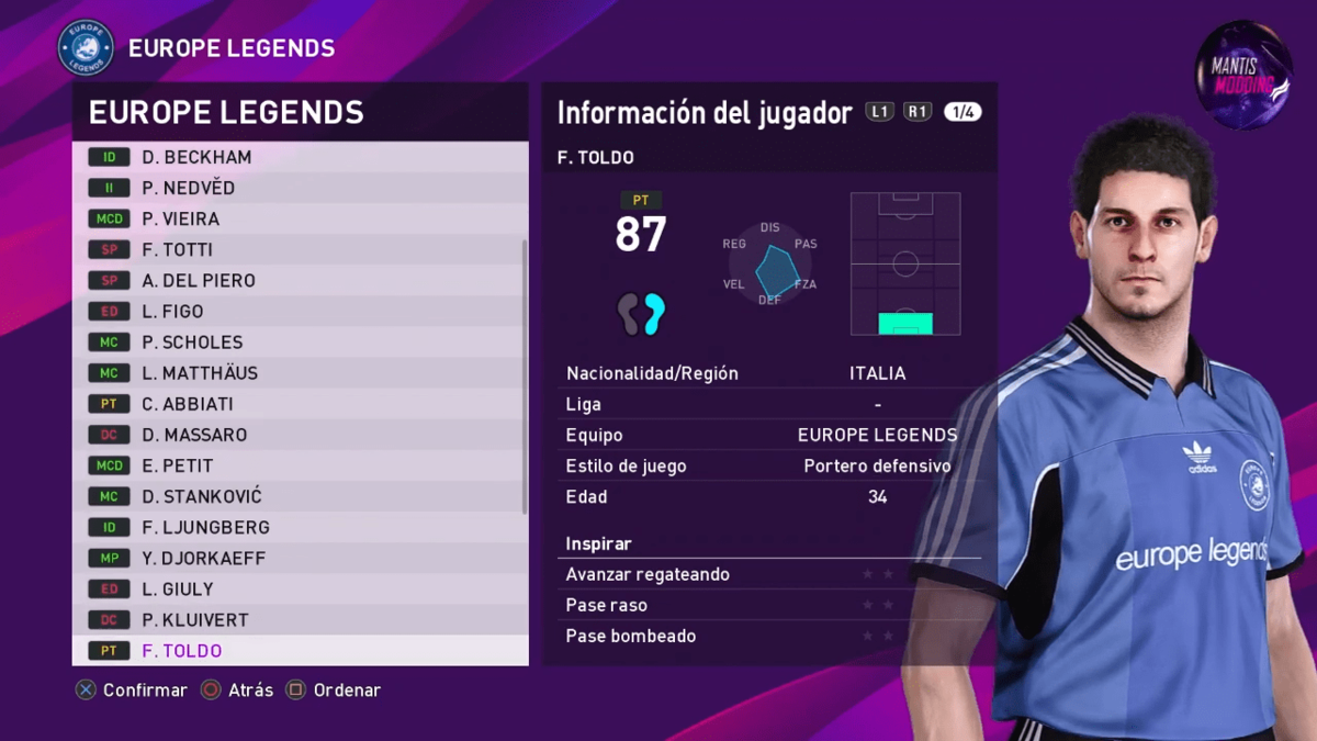 MyClub Legends Offline Mode eFootball PES 2020 PS4_PC V1 __ By Junior Mantis __ MantisModding 2-48 screenshot.png