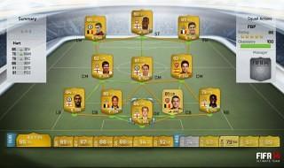 Novedades del modo Ultimate Team en FIFA 14