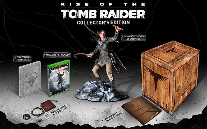 rise of the tomb raider coleccionista