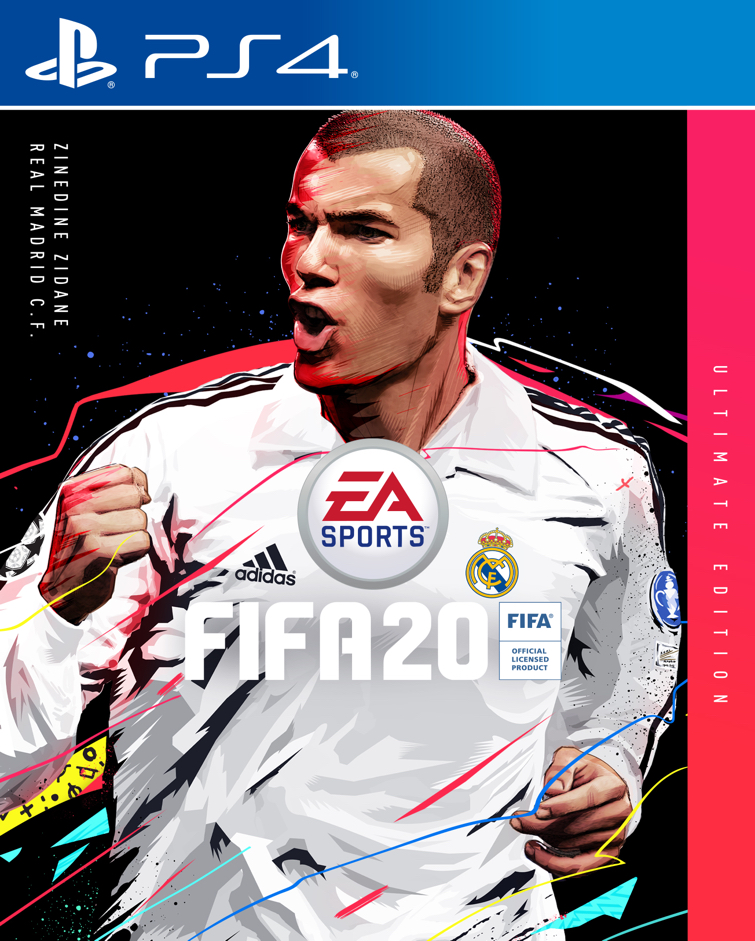 FIFA 20 PS4 Ultimate Edition Zidane