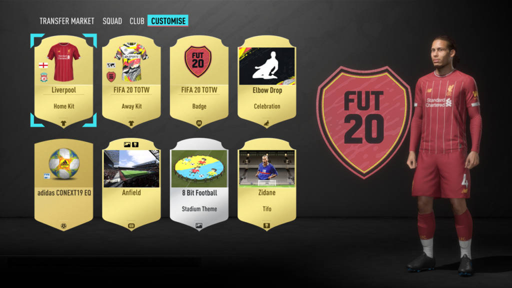Personalizacion FIFA 20