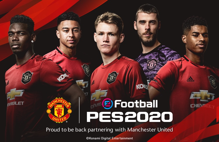 PES 2020 Manchester United