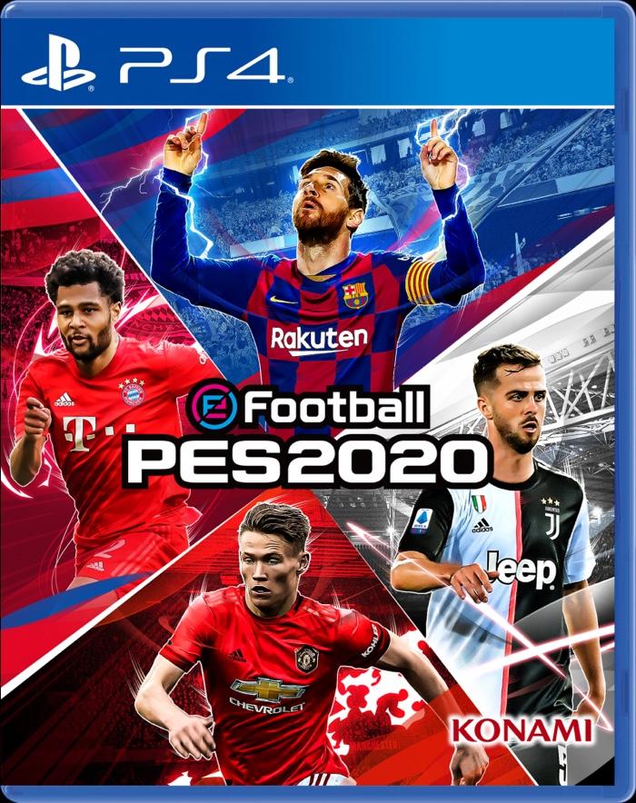 PES 2020 Portada PS4