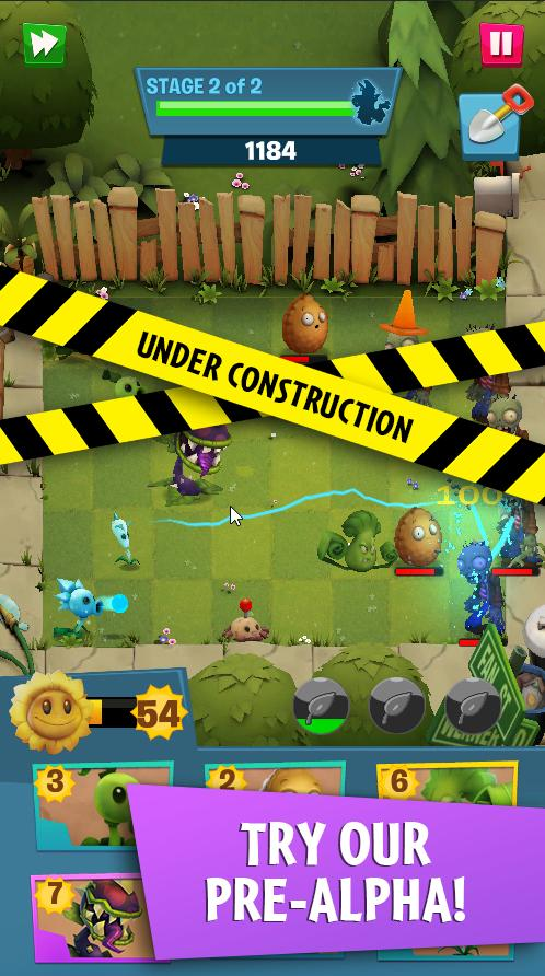 Plants. vs Zombies 3 android