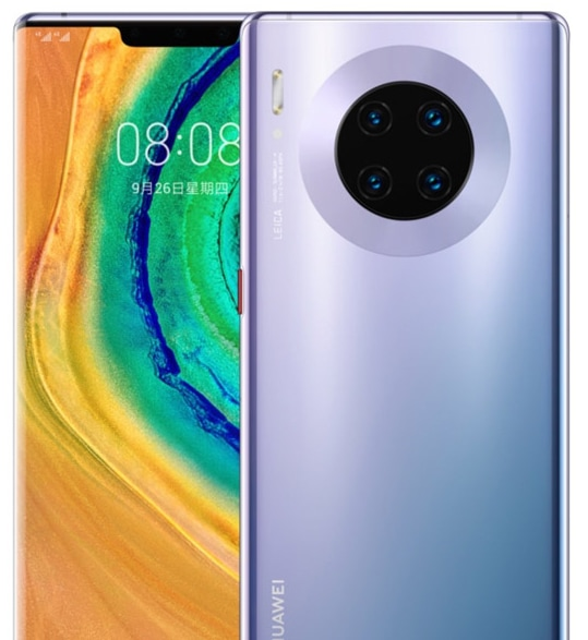Mate 30 Pro - Front Back
