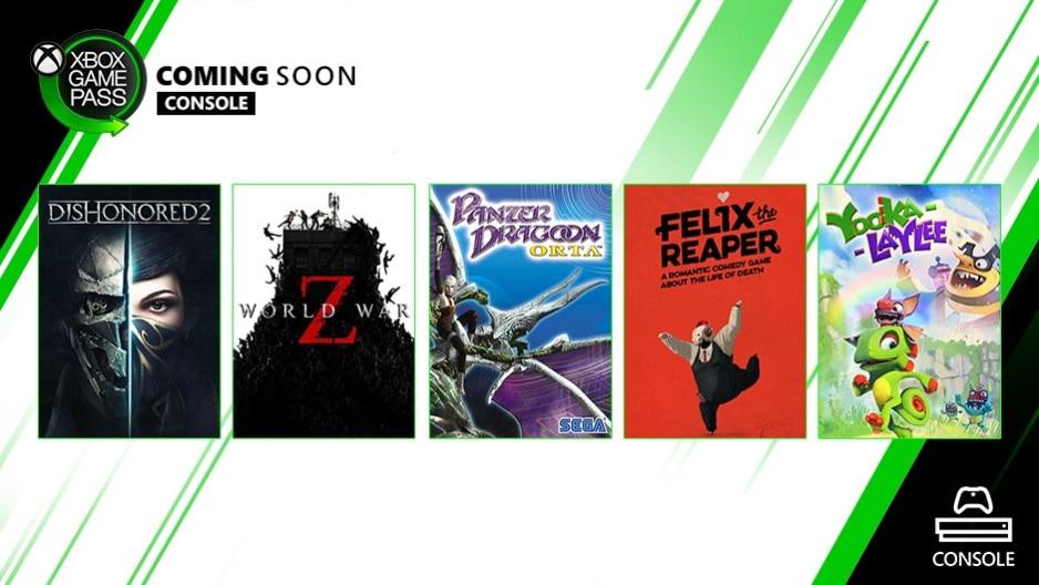 Xbox Game Pass octubre