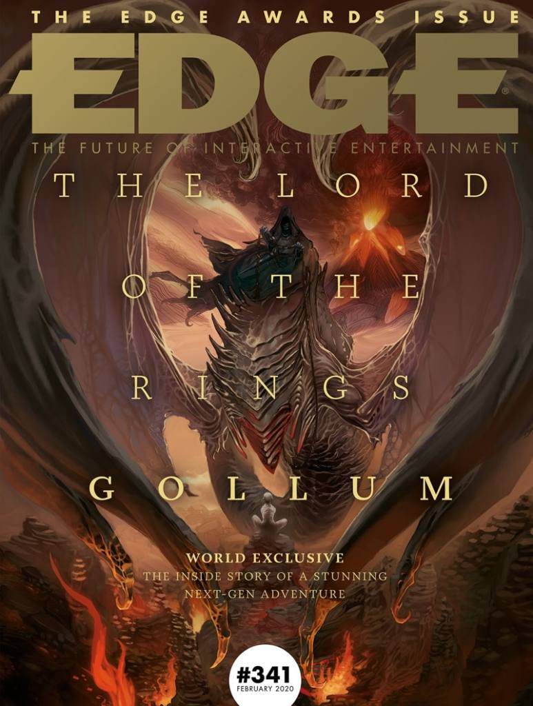 Lord of the Rings: Gollum Edge Cover