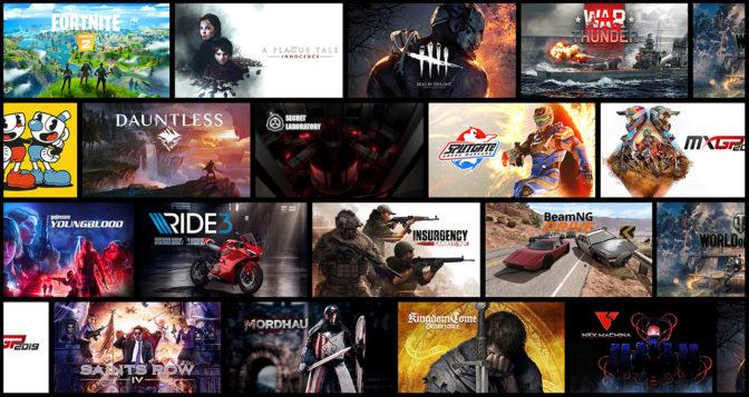 Geforce Now - Games
