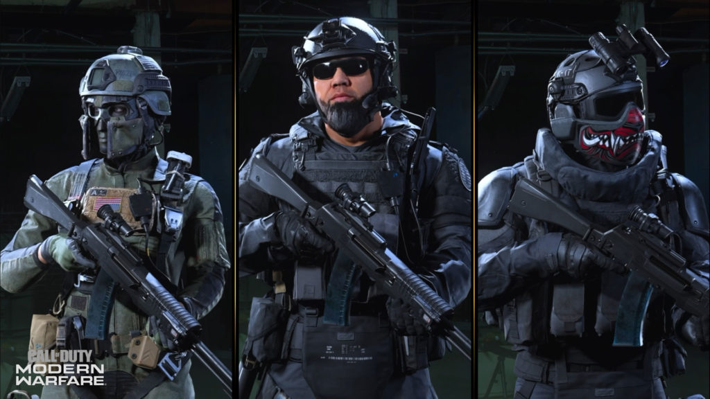 Shadow Company - Operadores Call of Duty Modern Warfare