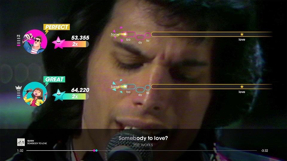 Let's Sing presents Queen - Screenshot