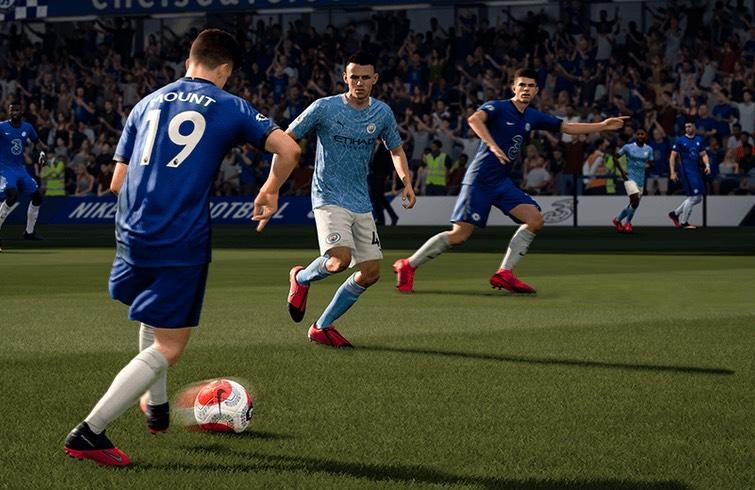 FIFA 21 - Chelsea - Manchester City
