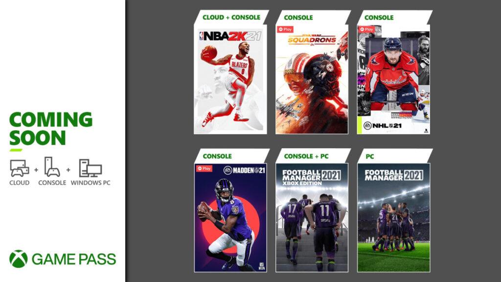 Xbox Game Pass - Marzo 2021