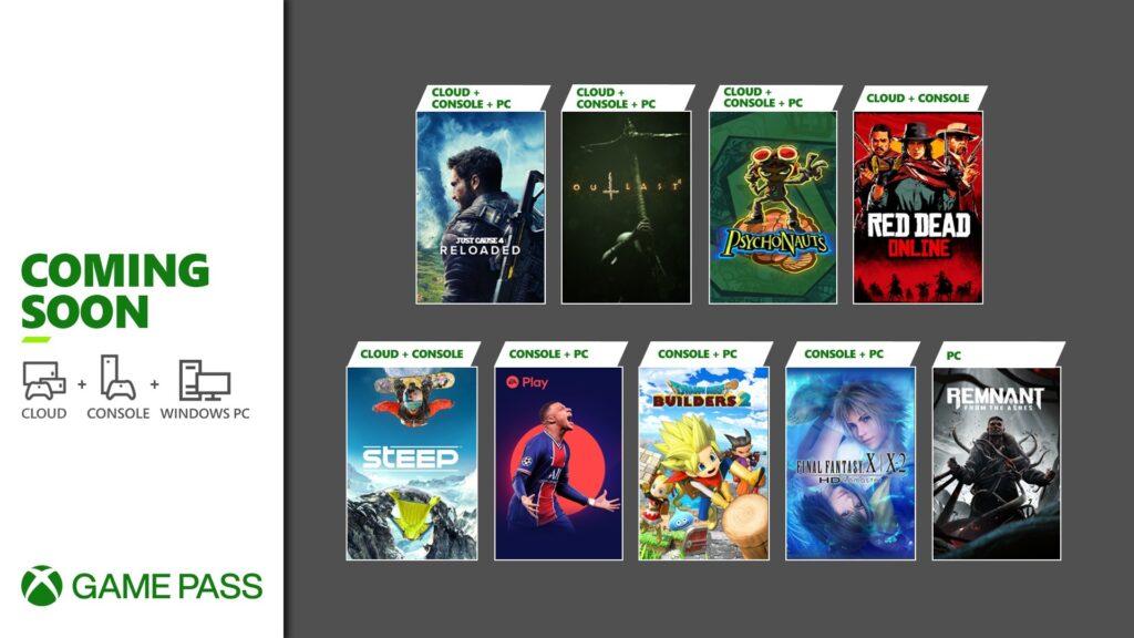 Xbox Game Pass Mayo 2021
