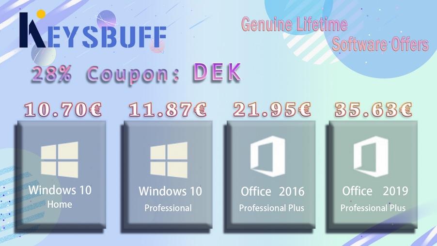 Keysbuff - Ofertas julio 2021