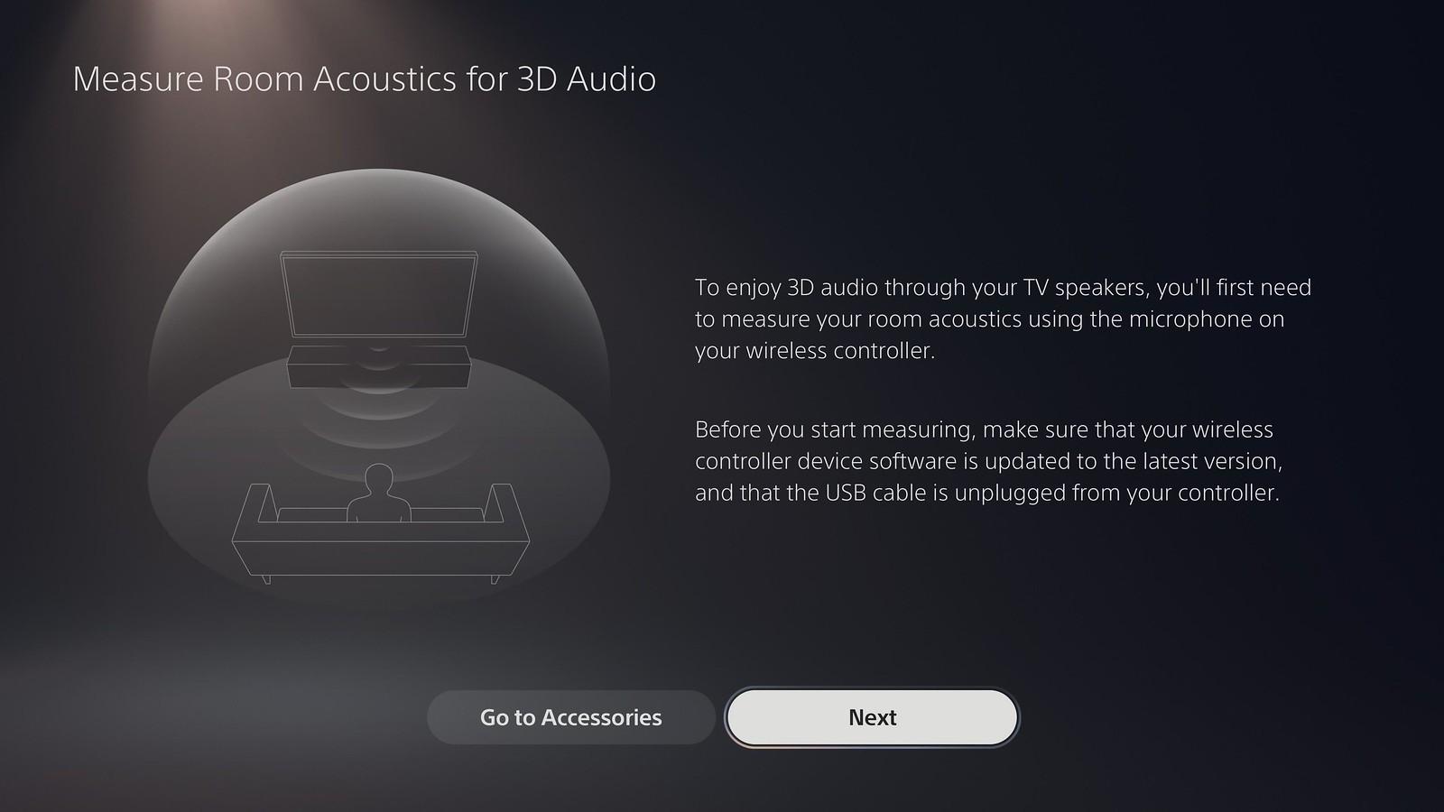 PS5 - Audio 3D TV