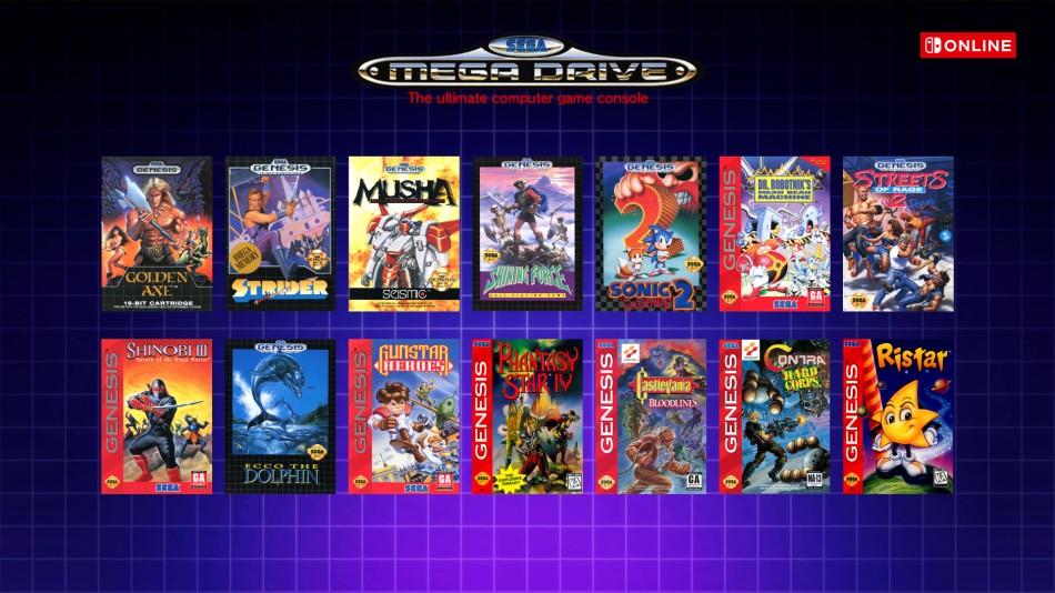 Mega Drive -NSO