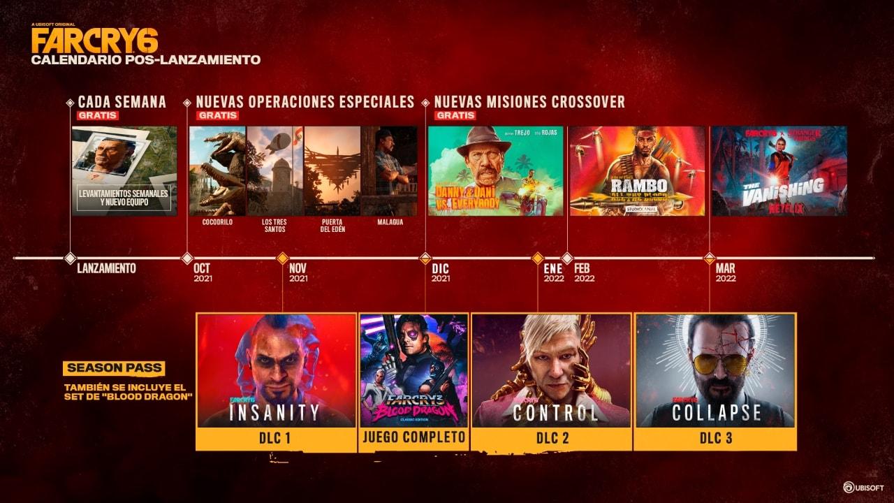 Far Cry 6 - Pase de Temporada