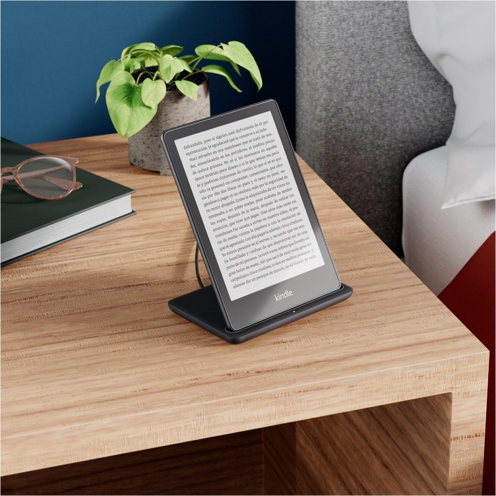 Kindle Paperwhite - Mesita