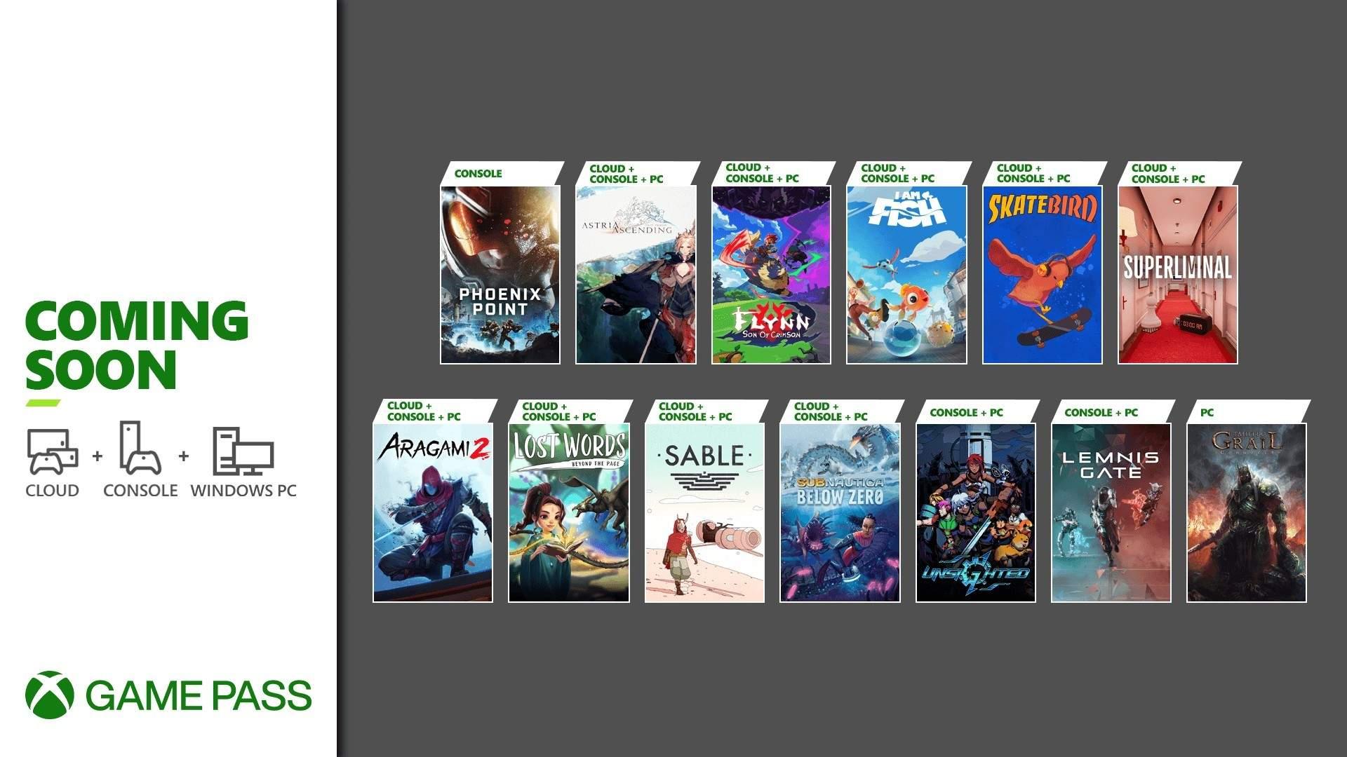 Xbox Game Pass - Septiembre 02