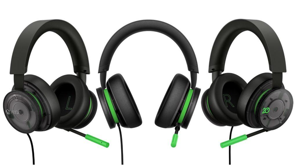 Auriculares estéreo Xbox: Edición especial 20.º aniversario